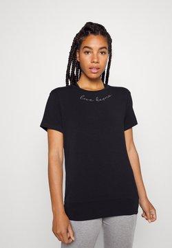Yogasearcher - MANTRA - T-shirt basic - black