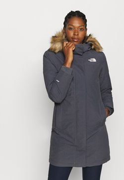 The North Face - W ARCTIC PARKA - Daunenmantel - vanadis grey