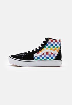 Vans - COMFYCUSH SK8 - Sneakersy wysokie - rainbow/true white