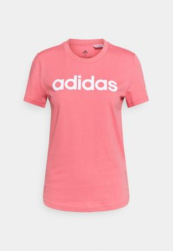 adidas Performance - T-Shirt print - light pink