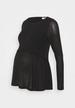 MAMALICIOUS - MLANABEL JUNE - Långärmad tröja - black