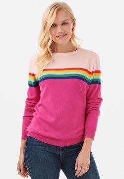 Sugarhill Brighton - RITA PRISM - Strickpullover - pink