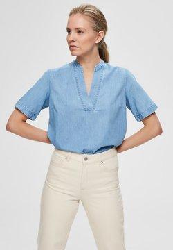 Selected Femme - Bluse - light blue