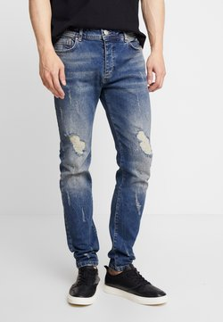 Good For Nothing - CONSTRUCT DESTROYED - Slim fit jeans - indigo