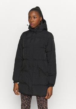 Cotton On Body - THE MOTHER MID LENGTH PUFFER - Talvitakki - black