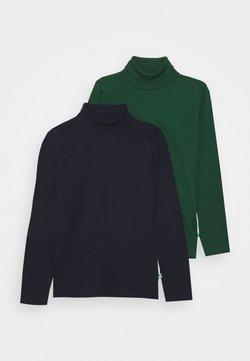 Blue Seven - KIDS BASIC ROLLNECK 2 PACK - Långärmad tröja - nachtblau/tanne