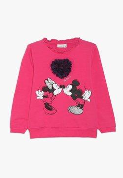 Name it - MICKEY MOUSE NMFMINNIE OLIVIA - Sweatshirt - fuchsia purple