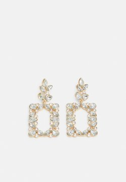 Pieces - PCBENNIA EARRINGS - Earrings - gold-coloured/clear