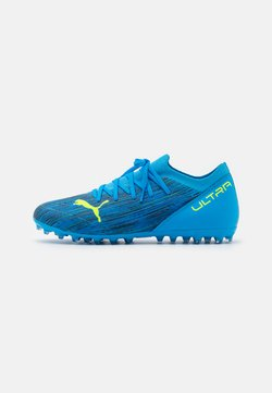 Puma - ULTRA 3.2 MG - Astro turf trainers - energy blue/yellow alert