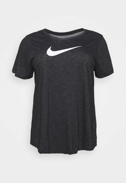 Nike Performance - DRY TEE PLUS - T-Shirt print - black