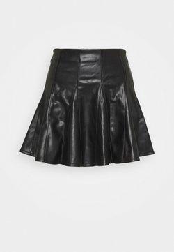 Miss Selfridge - SKATER SKIRT - Mini skirt - black