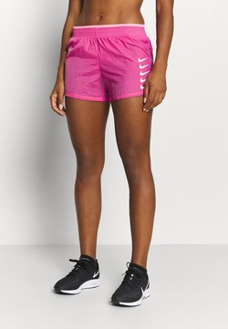 Nike Performance - RUN SHORT - Pantalón corto de deporte - pink glow/white