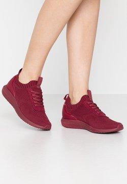 Tamaris Fashletics - Sneakers laag - dark cherry