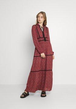 Vero Moda - VMALICE ANCLE DRESS - Maxikleid - marsala/rosey