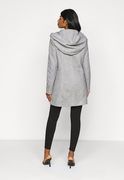 Vero Moda Petite - VMVERODONA JACKET - Wollmantel/klassischer Mantel - light grey