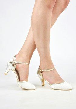 The Perfect Bridal Company - NINA GOLD - Brautschuh - ivory