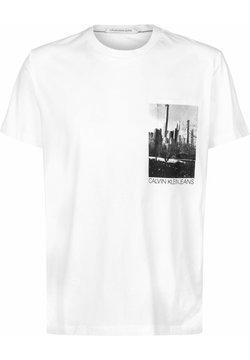 Calvin Klein Jeans - T-Shirt print - white