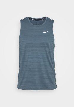 Nike Performance - MILER TANK - Camiseta de deporte - ozone blue