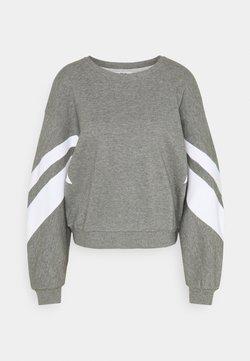 ONLY - ONLJOSSA SPORTY - Sweatshirt - medium grey melange