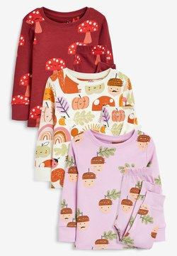 Next - 3 PACK CHARACTER - Pijama - multi-coloured