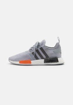 adidas Originals - NMD_R1 UNISEX - Sneakers - halo silver/black silver metallic/bahia orange