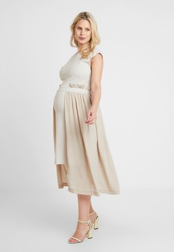 Gebe - DRESS - Jerseyjurk - camel