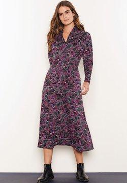 Next - TIE NECK - Vestido largo - purple
