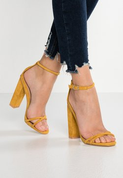 Glamorous - Sandalen met hoge hak - mustard