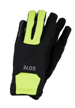 Gore Wear - THERMO - Torghandskar - black/neon yellow
