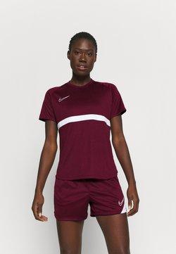 Nike Performance - DRY - Printtipaita - dark beetroot/white