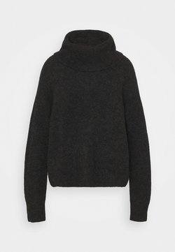 ARKET - TURTLENECK JUMPER - Stickad tröja - grey dark