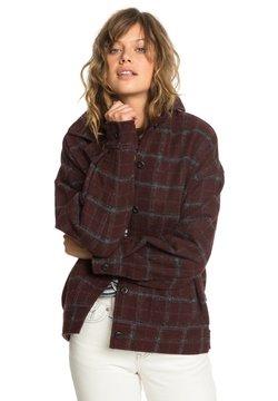 Quiksilver - Overhemdblouse - decadent choco wool blur check