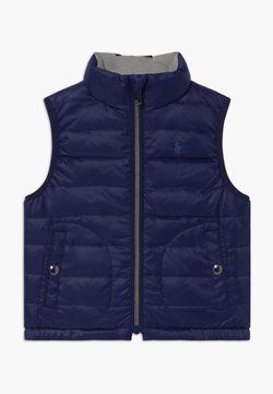 Polo Ralph Lauren - VEST OUTERWEAR - Smanicato - french navy/grey