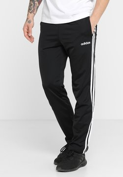 adidas Performance - 3 STRIPES SPORTS REGULAR PANTS - Spodnie treningowe - black/white