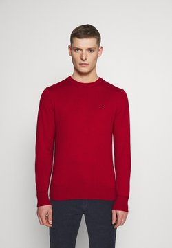 Tommy Hilfiger - PIMA CREW NECK - Sweter - red