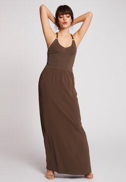 Morgan - Vestido largo - khaki