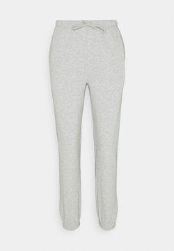 Vila - VIRUST PANT - Jogginghose - light grey melange