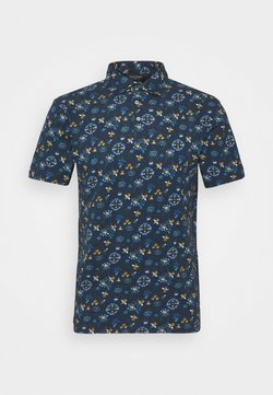 Bruun & Stengade - CHINTU - Poloshirt - dark blue