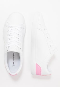 Lacoste - LEROND - Baskets basses - white/light pink