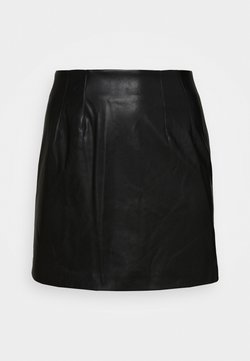 Glamorous Curve - SKIRT - A-Linien-Rock - black
