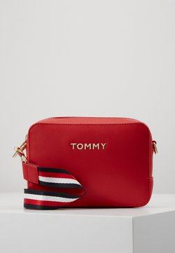Tommy Hilfiger - ICONIC CAMERA BAG - Schoudertas - red