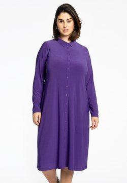 Yoek - Blusenkleid - purple