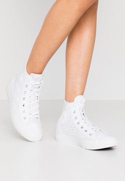Converse - CHUCK TAYLOR ALL STAR - Baskets montantes - white/barely volt