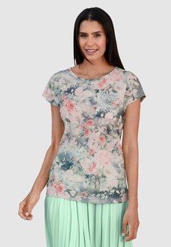 Laura Kent - T-Shirt print - rosé grau lindgrün