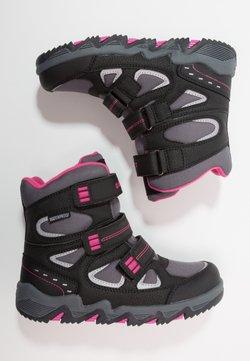 Hi-Tec - THUNDER WP  - Obuwie hikingowe - dark grey/black/fuschia