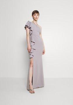 WAL G. - JESSIE FRILL SIDE DRESS - Ballkleid - pearl grey