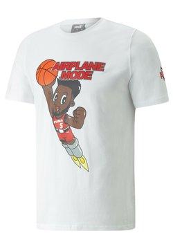 Puma - DERRICK JONES - T-Shirt print - puma white