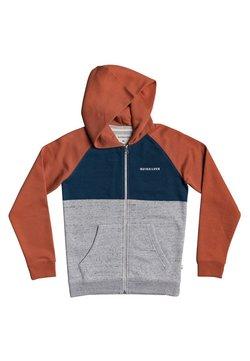 Quiksilver - EASY DAY  - veste en sweat zippée - redwood