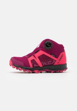 adidas Performance - TERREX BOA MID R.RDY UNISEX - Vaelluskengät - power berry/power pink/footwear white