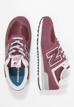 New Balance - GC574 - Matalavartiset tennarit - bordeaux